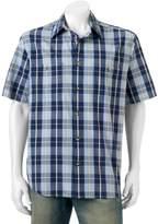 Woolrich Men's Tall Pine Classic-Fit Plaid Ripstop Button-Down Shirt