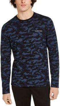 Calvin Klein Men's Move 365 Long Sleeve Camo Shirt