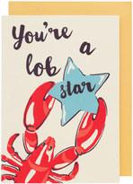 Cath Kidston Lobster Greetings Card