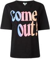 Kenzo Come Out T-shirt - women - Cotton - XS