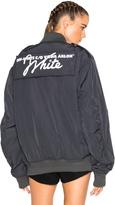 Off-White Nylon Bomber Jacket