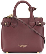 Burberry - sac à main à empiècements