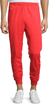 adidas Striped Track Pants, Red