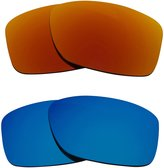 Seek Optics New SEEK Replacement Lenses Polarized Red Blue