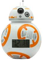 BulbBotz 2020503 Star Wars Kids Light Up Alarm Clock | white/orange | plastic | 7.5 inches tall | LCD display | boy girl | official