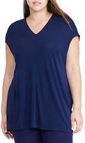 Lauren Ralph Lauren Plus Dolman-Sleeve Jersey Top