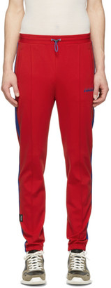 Unravel Red Jersey Track Lounge Pants