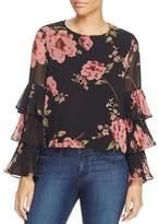 Lucy Paris Tiered Sleeve Top - 100% Exclusive