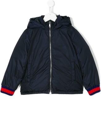 Gucci Kids Reversible Hooded Jacket