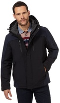 Maine New England Big And Tall Black Waterproof Performance Coat