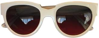 Thierry Lasry White Plastic Sunglasses