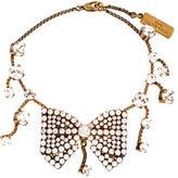 Nina Ricci Crystal Bow Bracelet