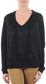 Majestic 238 women's Cardigans in Black