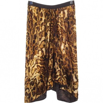 Isabel Marant Brown Velvet Skirt for Women