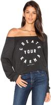 Spiritual Gangster Create Your Karma Sweatshirt