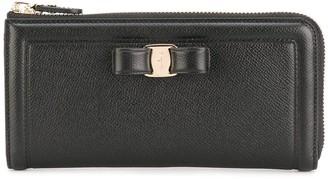 Salvatore Ferragamo Vara zip-around continental wallet