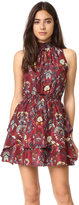 Moon River Flower Printed Dress