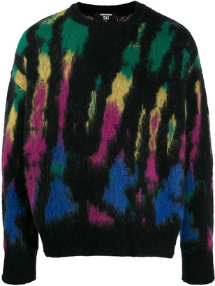 DSQUARED2 All-Over Pattern Jumper