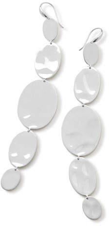 Ippolita 925 Classico Extra Long Linear Oval Earrings