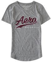 Aeropostale Womens Aero Script Graphic T Shirt