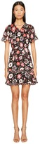 Kate Spade Casa Flora Flutter Sleeve Dress Women's Dress