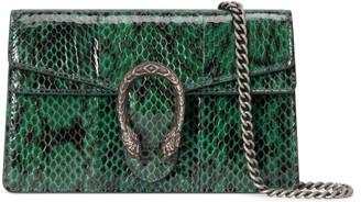 Gucci Dionysus super mini snakeskin bag