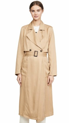 Cupcakes And Cashmere Women's Melody Lyocell Trench