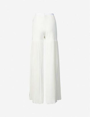 Huishan Zhang Mariella wide-leg high-rise woven trousers