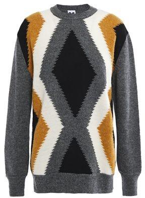 M Missoni Intarsia Wool Sweater
