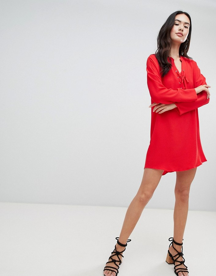 Thumbnail for your product : Qed London Shift Dress