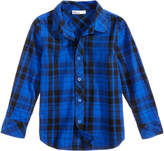 Epic Threads Plaid Cotton Shirt, Little Boys, Created for Macy's