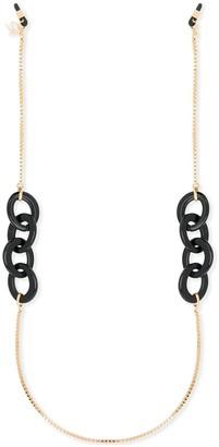 Emmanuelle Khanh Contrast Eyewear Chain