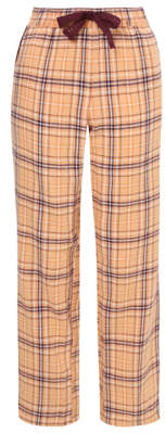 George Peach Check Pyjama Bottoms