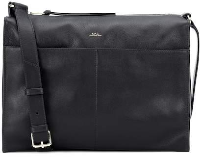 A.P.C. Suzanne leather shoulder bag
