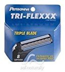 Personna Triflexxx Cartridges for Men - 8 Ea
