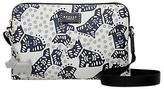 Radley Folk Dog Fabric Small Cross Body Bag, Ivory