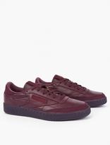 Reebok Burgundy Club C 85 Sneakers