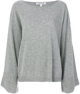 Elizabeth and James flared sleeve jumper - women - Polyamide/Viscose/Cashmere/Wool - S