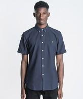 Farah Brewer Short Sleeved Oxford Shirt