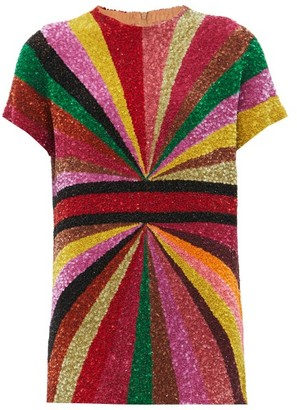 Ashish Kaleidoscope Sequinned Mini Dress - Multi