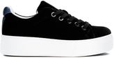 Kenzo Women's KLace Platform Low Top Trainers - Black