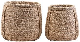 House Doctor - Medium Plant Basket - natural   Seagrass - Natural/Natural