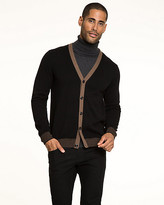 Le Château Cotton V-neck Cardigan
