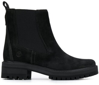 Timberland ankle slip-on boots