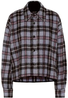 Isabel Marant Hanao checked wool shirt