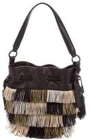Loeffler Randall Small Fringe Industry Bucket Bag
