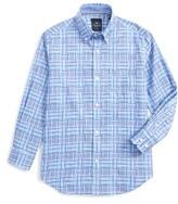 Tailorbyrd Boy's Plaid Dress Shirt