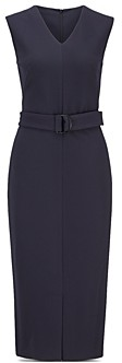 HUGO BOSS Dadorina Belted Sheath Dress