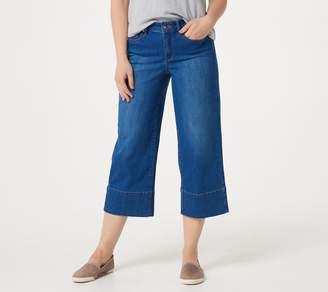 NYDJ Wide-Leg Capri Jeans -Ladera