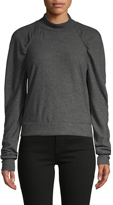 Project Social T Ruched Raglan-Sleeve Top